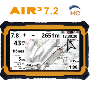 AIR³ 7.2 - android vario s XCtrack