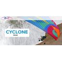 Tandem paramotor Cyclone