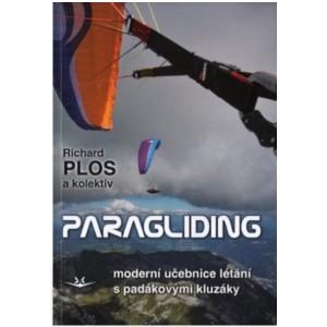 Kniha Paragliding (Richard Plos) učebnice létání s PK